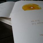 """""""Un été en approche"""", poèmes de Roger Gonnet et gravures sur CD d'Olga verme-Mignot, livre bilingue - espagnol-français"""
