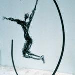 Equilibre intérieur, file de fer, h.55 cms