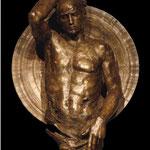 Persée, Guerrier monumental, 2010,116x90x58