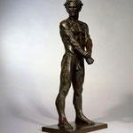 Guerrier vaincu, 99x43x28 cm