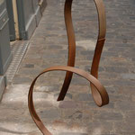 Ruban d'humeur 3, acier, h.120 cms