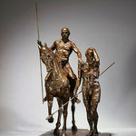 Cavalier et guerrier, 2010,99x68x69 cm, Edition de 4 épreuves