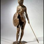Guerriere II - Bronze, 69 x 49 x 26 cm