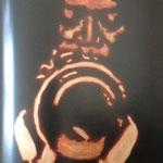 Miles Davis,sérigraphie, 50 x70 ed.de 70