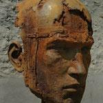 Tête de Persée monumentale, 2012, 234x130x102 cm