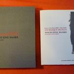 « Portraits de poètes UN MASQUE DE PLUS » Edition franco – allemande - espagnole, avec poèmes de Max Alhau et Eva-Maria Berg Réalisé en sérigraphie à 14 ex. et II ex. H/C Format  25 x 26 cm Editions Transignum -Novembre 2011