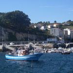 fiskebåtar i Corme