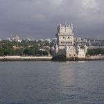 Inloppet till Lissabon
