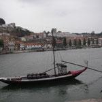 Portvinsbåt från gamla tider