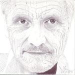 Retrato del genial pintor español Antonio López