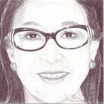 Retrato de mi mujer Elena