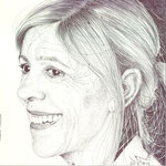 La pintora e ilustradora Susana Esteban