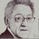 El artista plastico Antonio Sanz de la Fuente