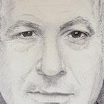 Retrato de Benjamin Netanyahu