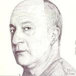 El pintor burgalés Carlos Sáez