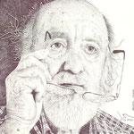 El gran escultor burgalés Néstor Pavón