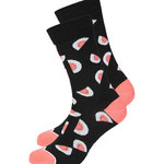 Basic Socks #MELON black / coral € 12,50