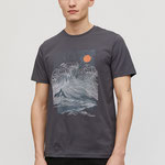 JAAMES BIG WAVE acid black T-Shirt aus Bio-Baumwolle – € 29,90