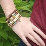 Coiled Kantha Bracelet - 29 €
