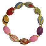 KANTHA OVAL BEADED BRACELET - 17 €