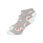 Short Socks #MELON grey / mint / coral € 10,50