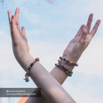 Kantha Armband Dotted - 15 €