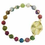 Kantha Armband Medallion - 15 €