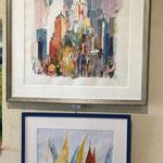 Atelier Maritne H. peintures aquarelles