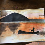 Atelier Maritne H. peinture Atelier Maritne H. peinture à l'aquarelle
