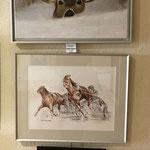 Atelier Maritne H. peintures à l'huile et aquarelle et pastels