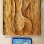 Atelier Maritne H. peinture à l'huile et pastels secs