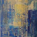 KERSTIN SOKOLL, Gold Legal, 2020, I011, 80 x 80 cm