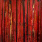 KERSTIN SOKOLL, Herbstträume, 2018, J015, 100 x 100 cm