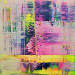KERSTIN SOKOLL, Swept Away, 2020, I010, 80 x 80 cm