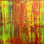 KERSTIN SOKOLL, Verborgene Vergänglichkeit I, 2020, J023, 100 x 100 cm