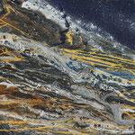 KERSTIN SOKOLL, Jupiters Geheimnis, 2017, L001, 80 x 80 cm, SOLD
