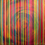 KERSTIN SOKOLL, Spektrum I, 2019, J016, 100 x 100 cm