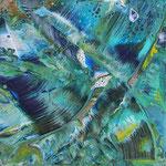 KERSTIN SOKOLL, Deep Blue Sea, 2017, A002, 20 x 20 cm, SOLD