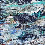 KERSTIN SOKOLL, Silur meets Devon, 2017, J002, 100 x 100 cm, SOLD