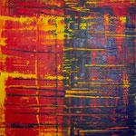 KERSTIN SOKOLL, Vibrations, 2018, O006, 120 x 100 cm, SOLD