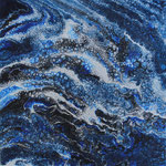 KERSTIN SOKOLL, arctic ocean, 2017, M001, 25 x 25 cm