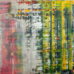 KERSTIN SOKOLL, Herbstfrühling, 2019, J022, 100 x 100 cm