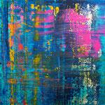 KERSTIN SOKOLL, Purple Rain, 2020, J027, 100 x 100 cm