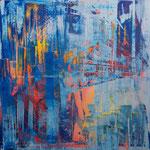 KERSTIN SOKOLL, Behind, 2020, J026, 100 x 100 cm, SOLD