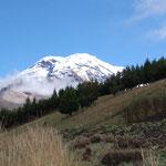 Der höchste Berg von Ecuador: der Chimborazo 6.310 m