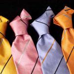 Corbata siete pliegues en diferentes colores