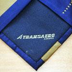 Logo corporativo en forro de corbata de seda