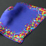 Impresion digital,Pañuelos de bolsillo en twill seda para Samsung