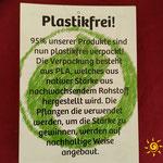 Ingwer und Trockenfrüchte - Plastikfreie Verpackung