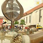 Wochenmarkt in Friedrichshafen - Ingwer und Trockenfrüchte - Adenauerplatz